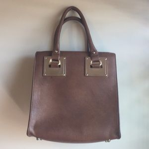 Madison West brown leather bag